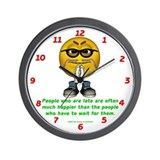 Late People Wall Clock