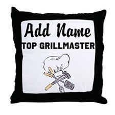GRILLMASTER Throw Pillow