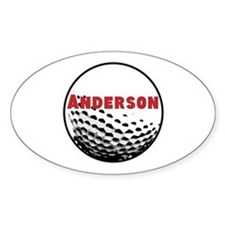 Personalized Golf Decal