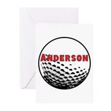 Personalized Golf Greeting Cards (Pk of 20)
