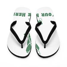 Personalized Golf Flip Flops