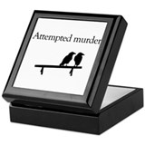 Attempted Murder Keepsake Box