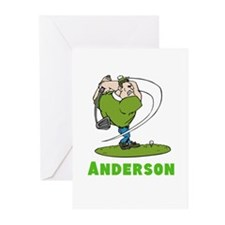Personalized Golf Greeting Cards (Pk of 10)