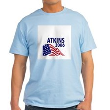 Atkins 06 Ash Grey T-Shirt