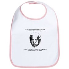 Joe Biden: 30% Chance Quote Bib