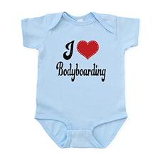 I Love Bodyboarding Infant Bodysuit