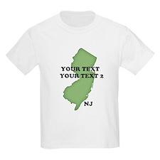 NJ YOUR TEXT T-Shirt