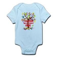 Together we can find a CURE Infant Bodysuit