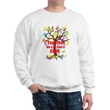 Together we can find a CURE Sweatshirt