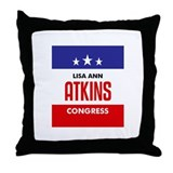 Atkins 06 Throw Pillow