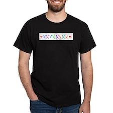 X's Black T-Shirt