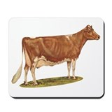 Ideal Guernsey Cow Mousepad