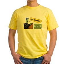 Halloween Daddys Home Frankenstein T