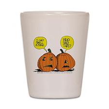 Halloween Daddys Home Pumpkins Shot Glass