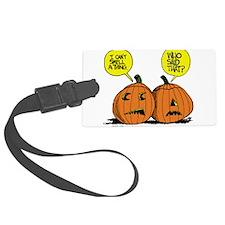 Halloween Daddys Home Pumpkins Luggage Tag