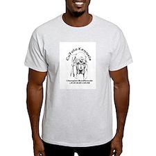 bloodhound Ash Grey T-Shirt