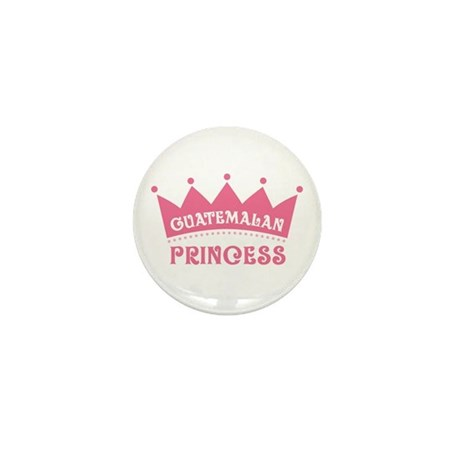 Guatemalan Princess mini button