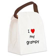 I love my grampy Canvas Lunch Bag