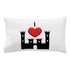 I LOVE CASTLE Pillow Case