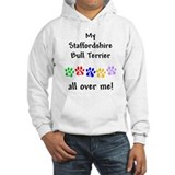 Staffordshire Bull Terrier Walks Jumper Hoody
