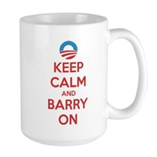 Keep calm and barry on Mug