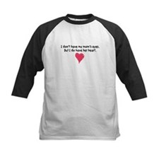 mom's heart kids baseball jersey