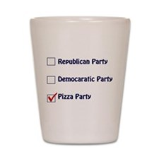 Political Parties Shot Glass