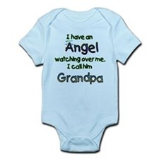 I HAVE AN ANGEL GRANDPA.png Infant Bodysuit