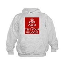 Diabetes Keep Calm Hoodie