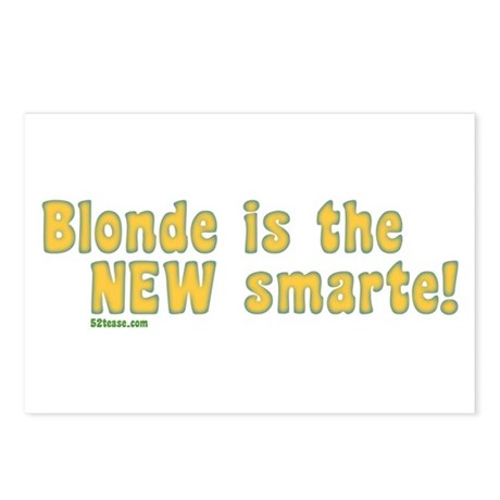 Blonde is the New Smarte Postcards (Package of 8)