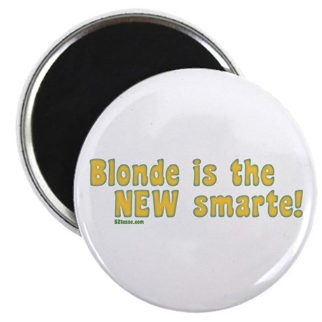 Blonde is the New Smarte Magnet