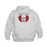 Everyone Loves Peruvian Girl Hoodie