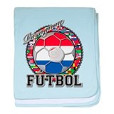 Paraguay Flag World Cup Futbol Ball with World Fla