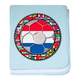 Paraguay Flag World Cup Soccer Futbol Football Bal