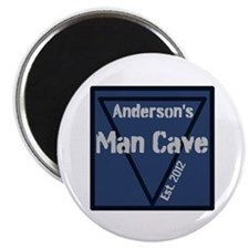 Personalized Man Cave Magnet