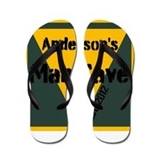 Personalized Man Cave Flip Flops