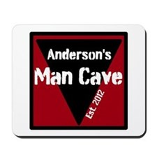 Personalized Man Cave Mousepad