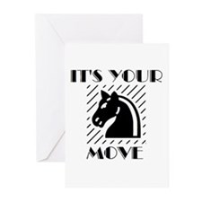 DRUMS OF CHESS™ Greeting Cards (Pk of 20)