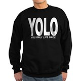YOLO: You Only Live Once Jumper Sweater