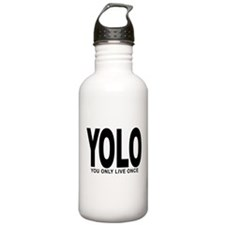 YOLO: You Only Live Once Water Bottle