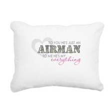 Everything 4.png Rectangular Canvas Pillow