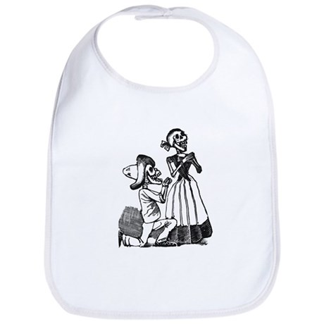 Calavera of Cupid Bib