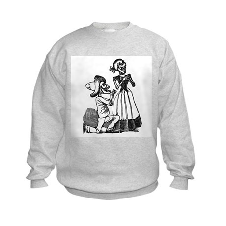 Calavera of Cupid Kids Sweatshirt