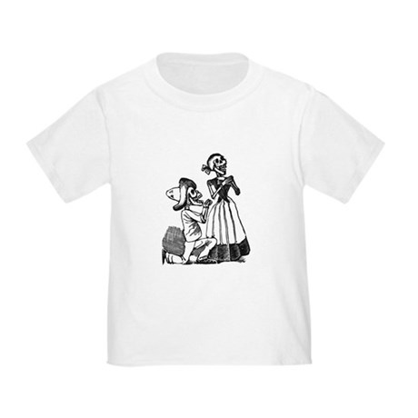 Calavera of Cupid Toddler T-Shirt