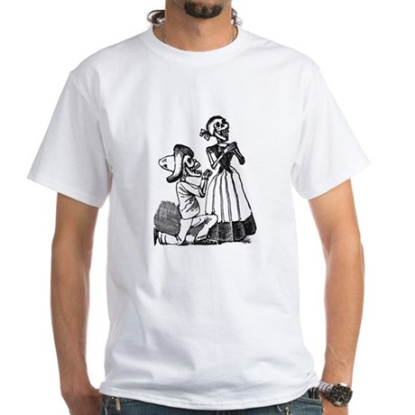 Calavera of Cupid White T-Shirt