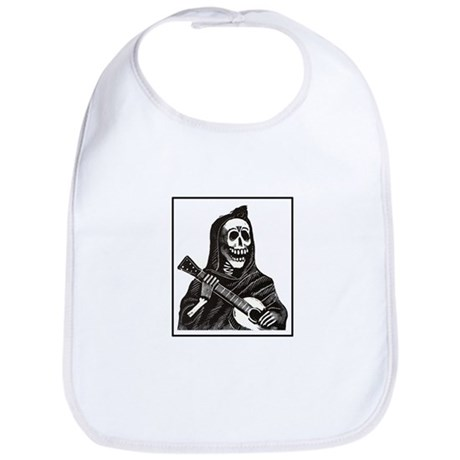 Calavera with Guitar Bib