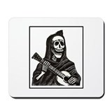 Calavera with Guitar Mousepad