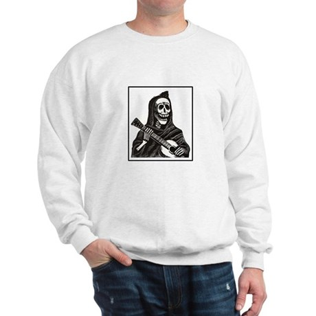 Calavera with Guitar Sweatshirt