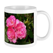 Rose, pink and white Mug