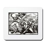 Calavera Bar Fight Mousepad